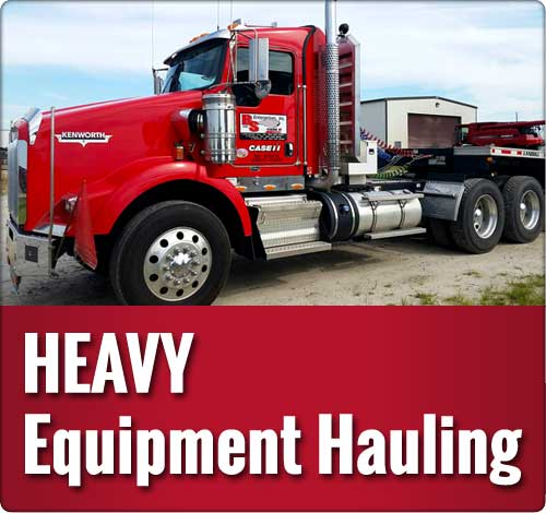 Heavy Equipment  Hauling